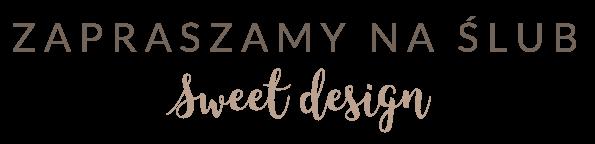 Zapraszamy na Ślub - logo
